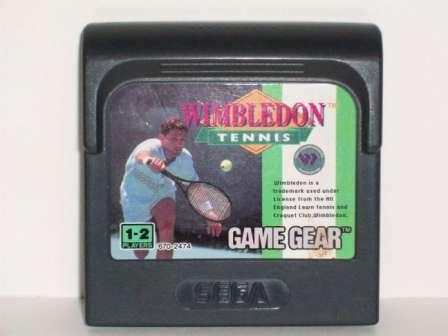 Wimbledon Tennis - Game Gear Game