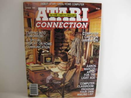 Atari Connection Magazine - 1983 Spring Issue
