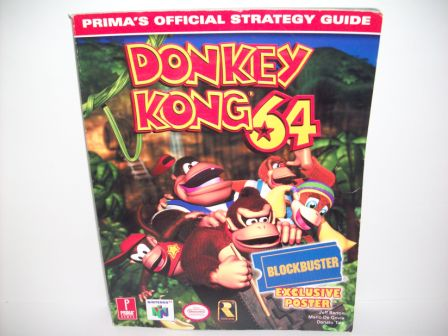 Donkey Kong 64 - Official Strategy Guide