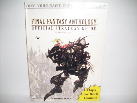 final fantasy anthology official strategy guide just go vintage rh justgovintage com final fantasy vi strategy guide pdf final fantasy vi strategy guide pdf