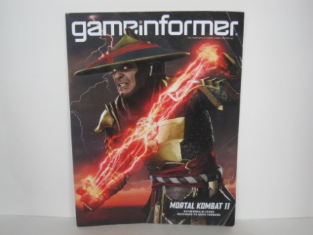 Game Informer Magazine - Vol. 313 - Mortal Kombat 11