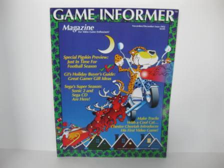 Game Informer Magazine - 1992 Nov/Dec Issue