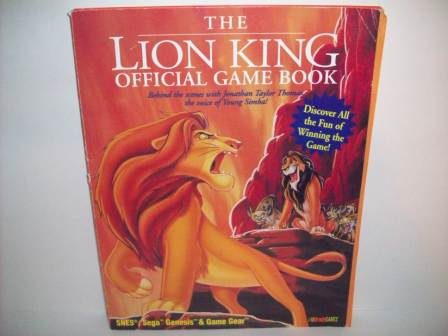 Lion King, The - Official Game Book