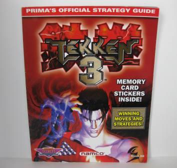 Tekken 3 Official Strategy Guide