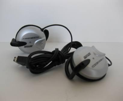 GBA SP Nintendo Power Earphones (Silver) - GBA SP Accessory