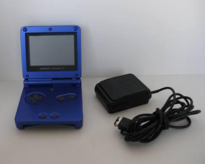Game Boy Advance SP System (Cobalt Blue) w/ Charger
