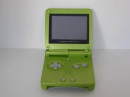 Game Boy Advance SP System ONLY (Lime Green)