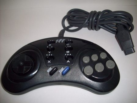 Genesis Controller - 6 Btn Turbo/Slow Motion - Genesis Accessory