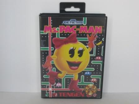 Ms. Pac-Man (CASE ONLY) - Genesis