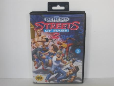 Streets of Rage 2 (CASE ONLY) - Genesis
