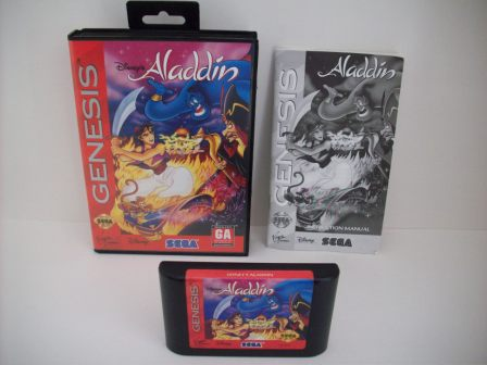 Aladdin (Disneys) (CIB) - Genesis Game