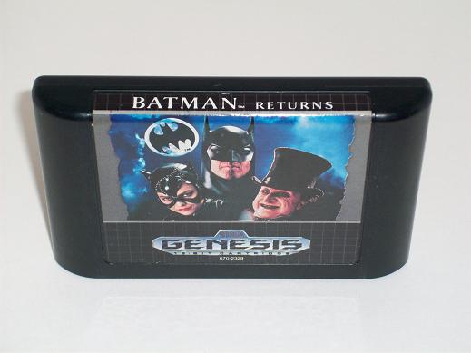 Batman Returns - Genesis Game