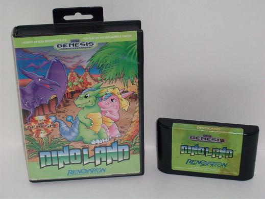 Dino Land (Boxed - no manual) - Genesis Game
