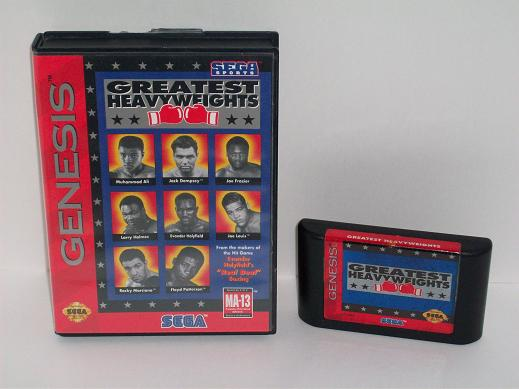 Greatest Heavyweights (CIB) - Genesis Game