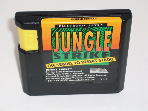 Jungle Strike: The Sequel to Desert Strike - Genesis Game
