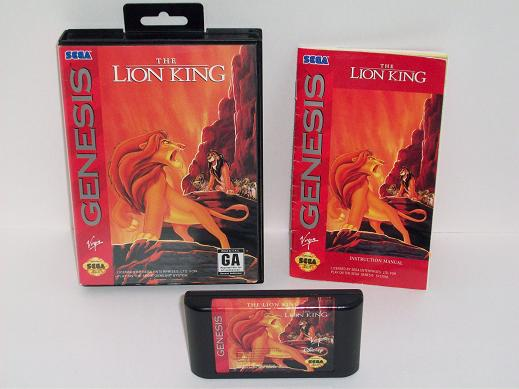 Lion King, The (Disneys) (CIB) - Genesis Game