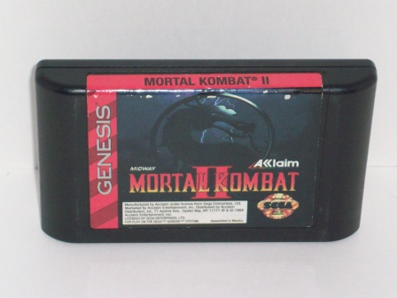Mortal Kombat 2 - Genesis Game