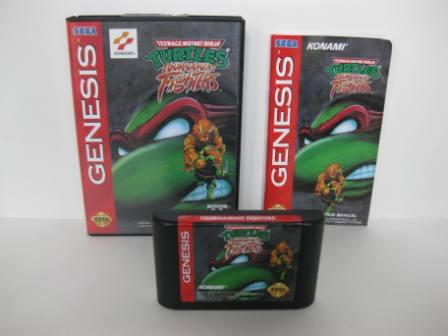 TMNT: Ninja Turtles Tournament Fighters (CIB) - Genesis Game