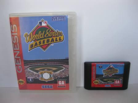 World Series Baseball (3rd Party Case- no manual) - Genesis Game