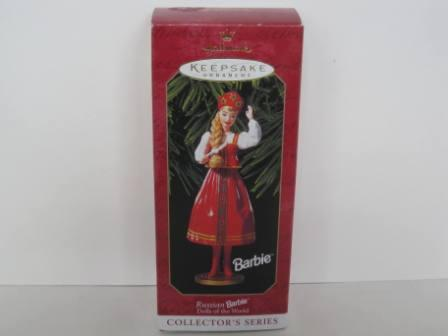 Russian Barbie Keepsake Ornament by Hallmark (1999)