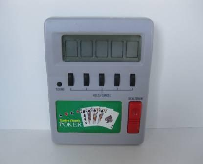 Radio Shack Poker - Handheld Game