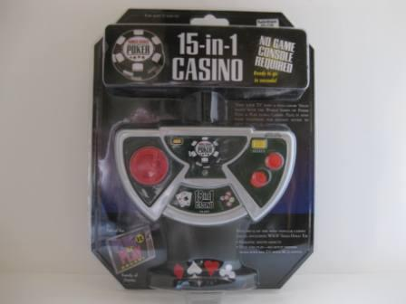 15-in-1 Casino (WSOP) (SEALED) - Handheld Game