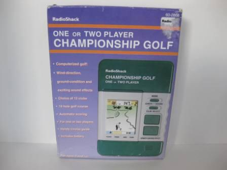 Championship Golf (CIB) (1997) - Handheld Game