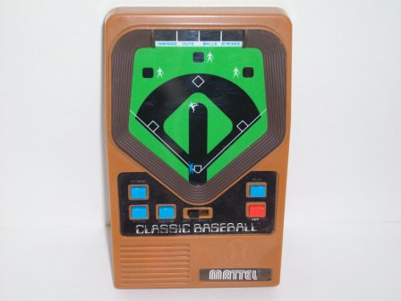 Classic Baseball (2001) - Handheld Game
