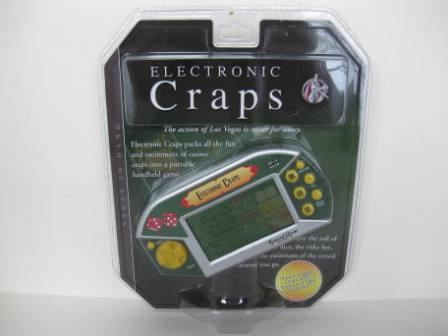 Electronic Craps - Handheld Game