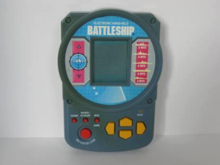 Electronic Handheld Battleship (Gray) (1995) - Handheld Game
