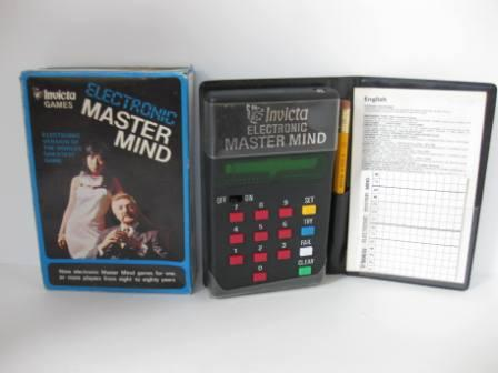 Electronic Master Mind (CIB) (1977) - Handheld Game