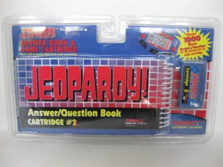 Jeopardy! - Cartridge 2 Answer/Question Book (1995)