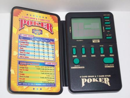 Las Vegas Casino Corner Poker (1994) - Handheld Game