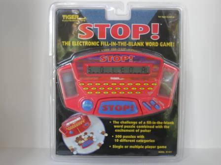 STOP! (SEALED) (1998) - Handheld Game