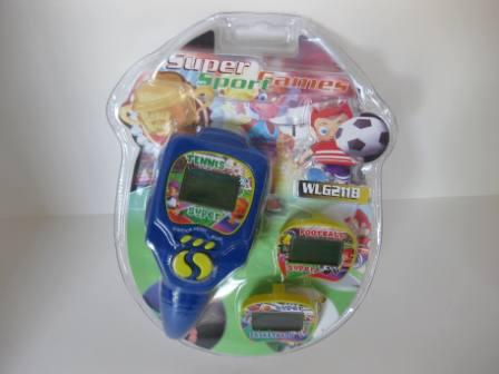 Super Sport Games (Blue) (SEALED) - Handheld Game