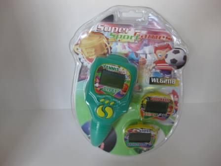 Super Sport Games (Green) (SEALED) - Handheld Game