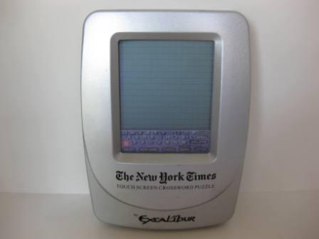NY Times Touch Screen Crossword Puzzle w/ Pen - Handheld Game