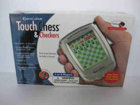 Touch Chess & Checkers (SEALED) - Handheld Game