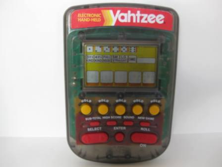 Electronic Handheld Yahtzee (Smoke Color) (1995) - Handheld Game