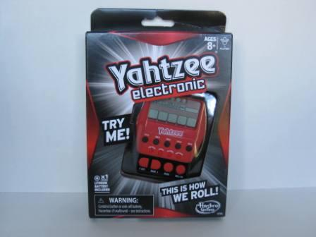 Yahtzee Electronic (2012) (SEALED) - Handheld Game