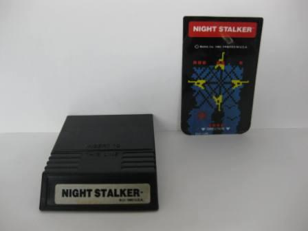 Night Stalker w/ overlay - Intellivision Game