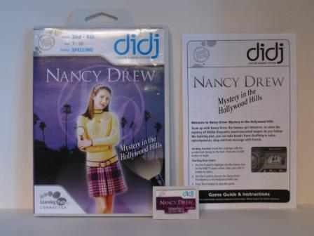 Nancy Drew: Mystery in the Hollywood Hills (CIB) - Didj Game