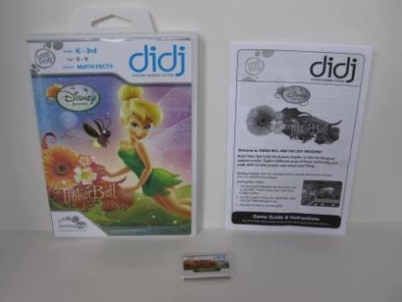 TinkerBell and the Lost Treasure (CIB) - Didj Game