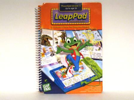LeapPad Interactive Book (Orange) - LeapPad Book Only