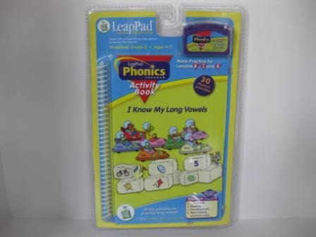 Phonics Program Activities Lessons 6-8 (SEALED) - LeapPad Game