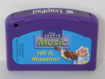 Hit it, Maestro! (Music) - LeapPad Game