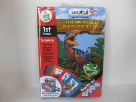 Leap and the Lost Dinosaur (CIB) - LeapPad Game