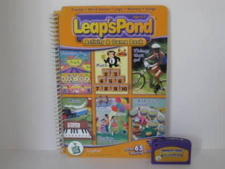 Leaps Pond Activity & Game Book (w/ Book) - LeapPad Game