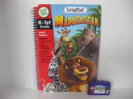 Madagascar (w/ Book) - LeapPad Game