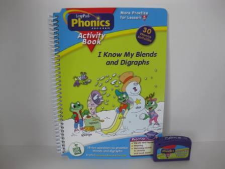Phonics Program Activities Lesson 5 (w/ Book) - LeapPad Game